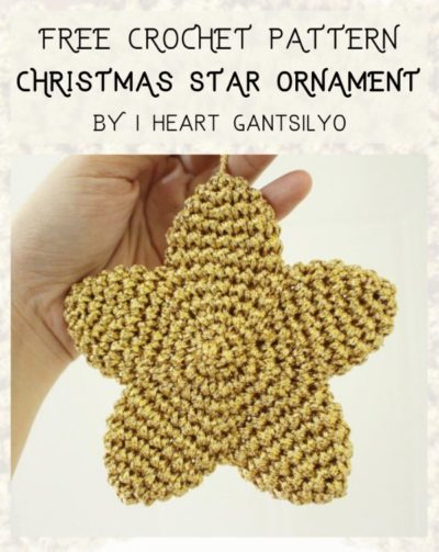 Free Crochet Pattern Christmas Star Ornament