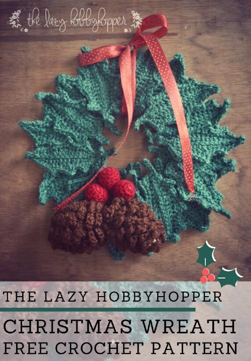 Free Crochet Pattern Christmas Wreath