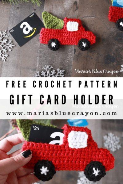 Free Crochet Pattern Gift Card Holder