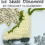 Free Crochet Pattern Ice Skate Ornament