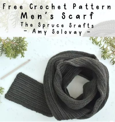 Free Crochet Pattern Men's Scarf