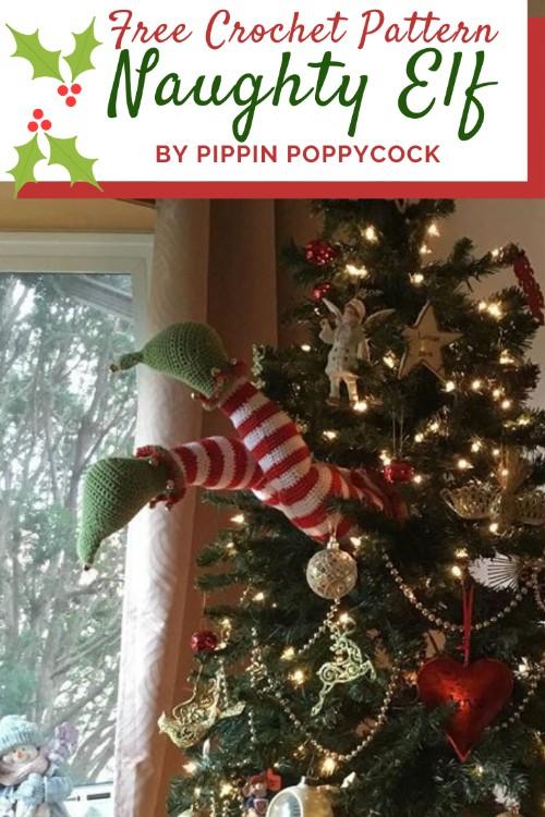Free Crochet Pattern Naughty Elf