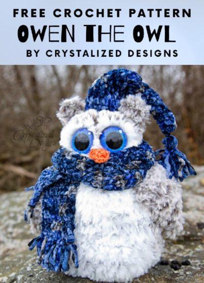 Free Crochet Pattern Owen the Owl
