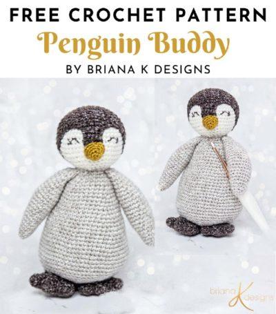 Free Crochet Pattern Penguin Buddy