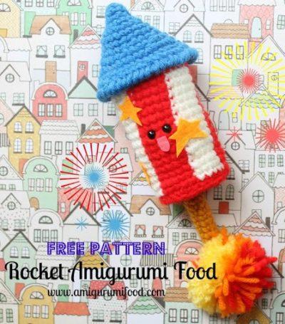 How to Crochet Amigurumi Food - Craftfoxes | 455x400