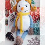 Free Crochet Pattern Snowman