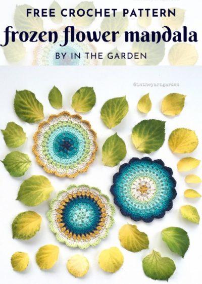 Free Crochet Pattern Frozen Flower Mandala