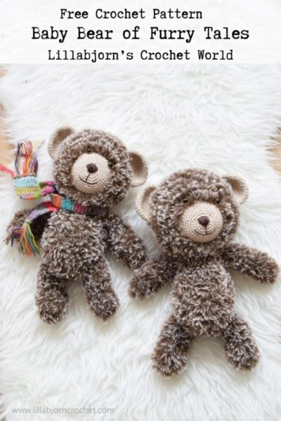 Free Crochet Pattern Baby Bear of Furry Tales