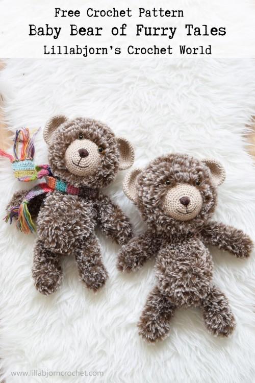 Free Crochet Pattern Baby Bear of Furry Tales