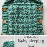Free Crochet Pattern Baby Sleeping Bag
