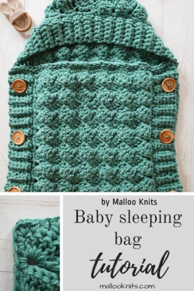 Free Crochet Pattern Baby Sleeping Bag