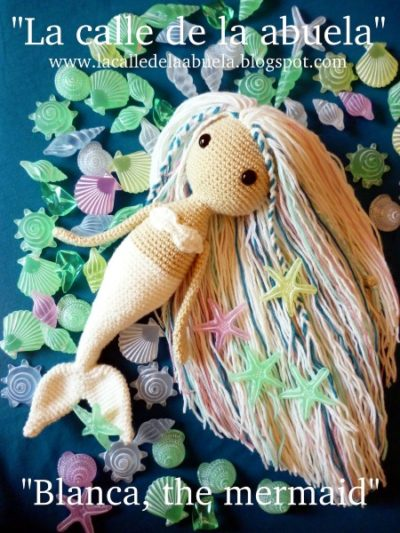 Free Crochet Pattern Blanca the Mermaid