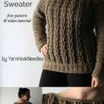 Free Crochet Pattern Cable Sweater