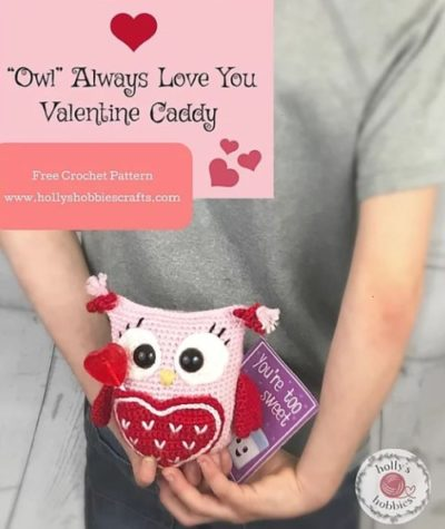 Free Crochet Pattern Owl Always Love You