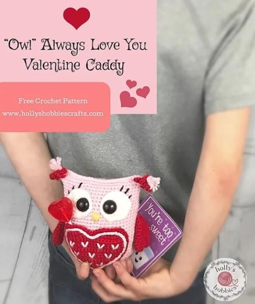 Free Crochet Pattern Owl Always Love You