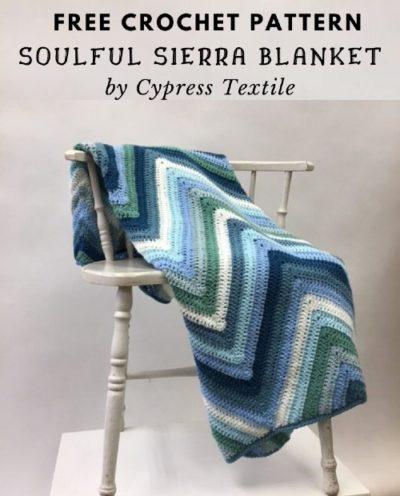 Free Crochet Pattern Soulful Sierra Blanket
