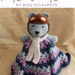 Free Crochet Pattern Teddy Bear Security Blanket