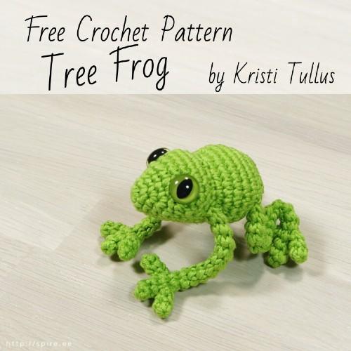Free Crochet Pattern Tree Frog