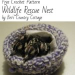 Free Crochet Pattern Wildlife Rescue Nest