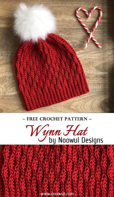 Free Crochet Pattern Wynn Hat