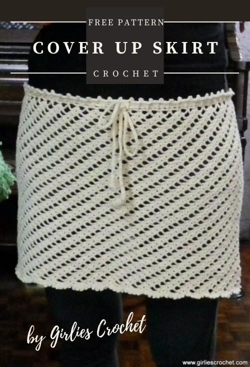 Free Crochet Pattern Cover Up Skirt