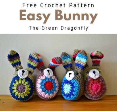 Free Crochet Pattern Easy Bunny