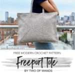 Free Crochet Pattern Freeport Tote
