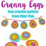 Free Crochet Pattern Granny Eggs