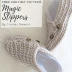 Free Crochet Pattern Magic Slippers