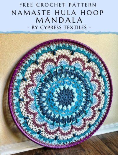 Free Crochet Pattern Namaste Hula Hoop Mandala