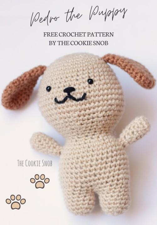 Free Crochet Pattern Pedro the Puppy