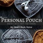 Free Crochet Pattern Personal Pouch