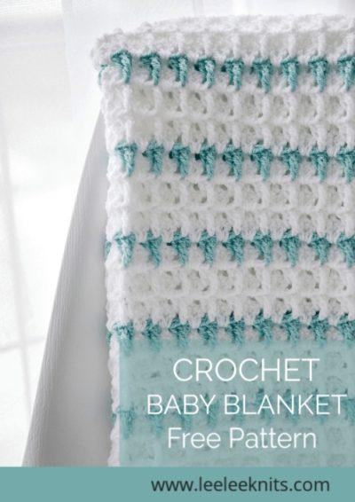 Free Crochet Pattern Rumi Baby Blanket
