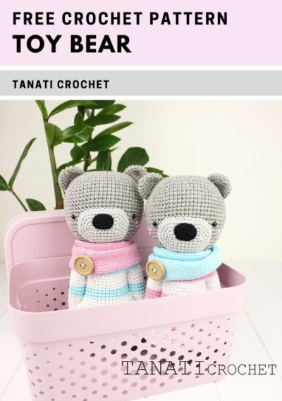Free Crochet Pattern Toy Bear
