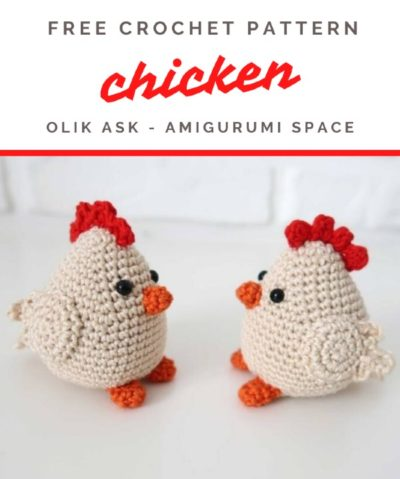 Free Crochet Pattern Chicken
