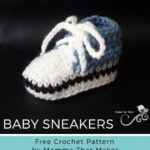 Free Crochet Pattern Cool Baby Sneakers