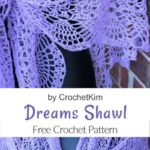 Free Crochet Pattern Dreams Shawl