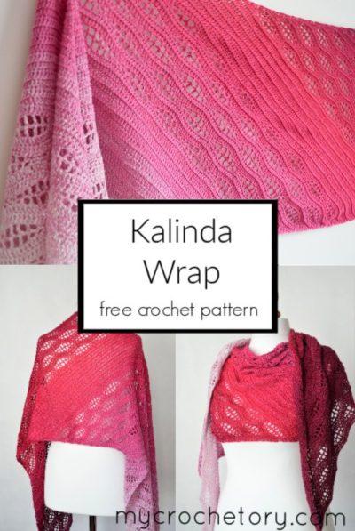 Free Crochet Pattern Kalinda Wrap