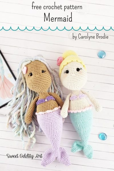 Free Crochet Pattern Mermaid