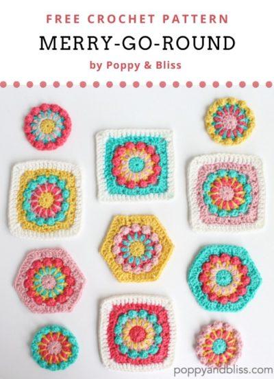 Free Crochet Pattern Merry-Go-Round