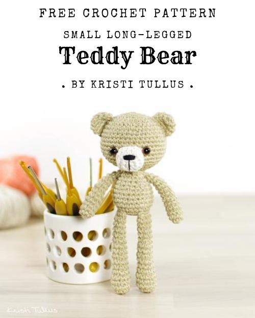 Free Crochet Pattern Small Teddy Bear