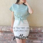 Free Crochet Pattern Tea Time Crop Top