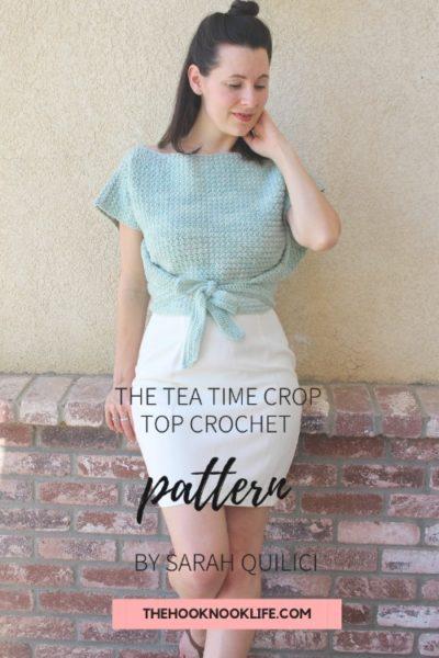 Free Crochet Pattern Tea Time Crop Top