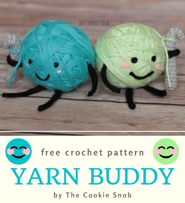 Free Crochet Pattern Yarn Buddy