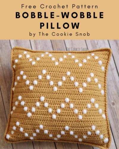 Free Crochet Pattern Bobble-Wobble Pillow
