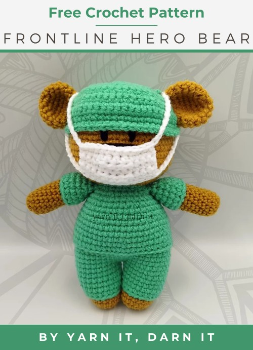 Free Crochet Pattern Frontline Hero Bear