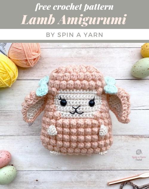 Amigurumi sheep plush toy pattern - Amigurumi Today | 635x500