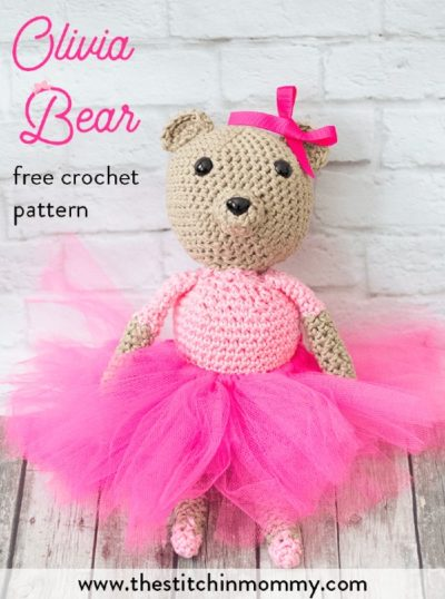 Free Crochet Pattern Olivia Bear