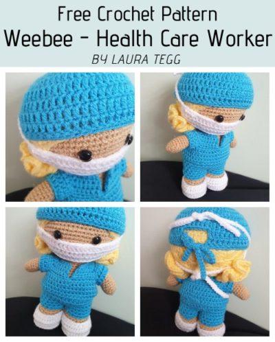 Free Crochet Pattern Weebee Health Care Worker