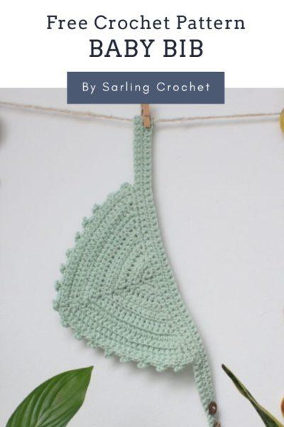 Free Crochet Pattern Baby Bib
